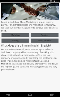 Client Marketing- screenshot thumbnail