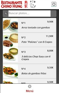 Restaurante Chino Hung Screenshot