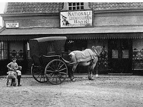 Photo: 1920 Uitspanning de Roskam in Princenhage.