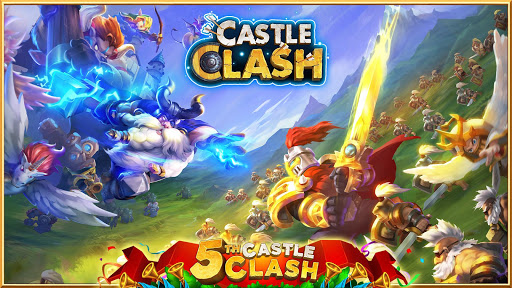Castle Clash: Heroes of the Empire US 1.5.72 APK MOD screenshots 1
