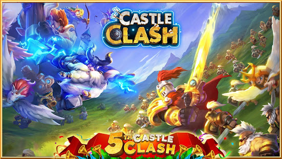 Castle Clash: Heroes of the Empire US poster