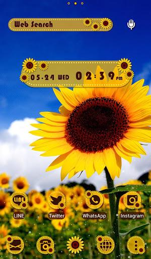 Summer Wallpaper Sunflowers 1.0.0 Windows u7528 1