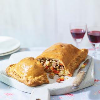 Empanada Gallega - Spanish-style Empanada Pie.