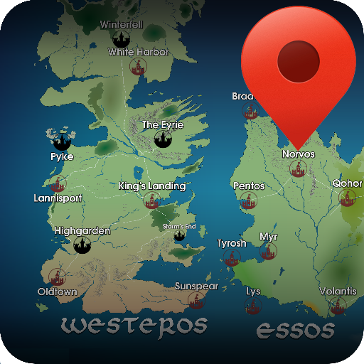 Map for game of thrones free apps on google play gumiabroncs Image collections
