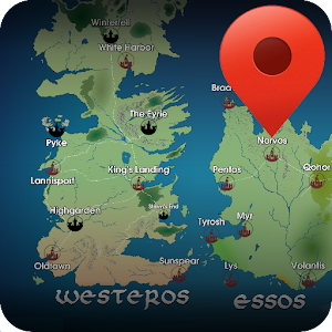 Map for Game of Thrones  |  Mapa de Juego de Tronos para Android