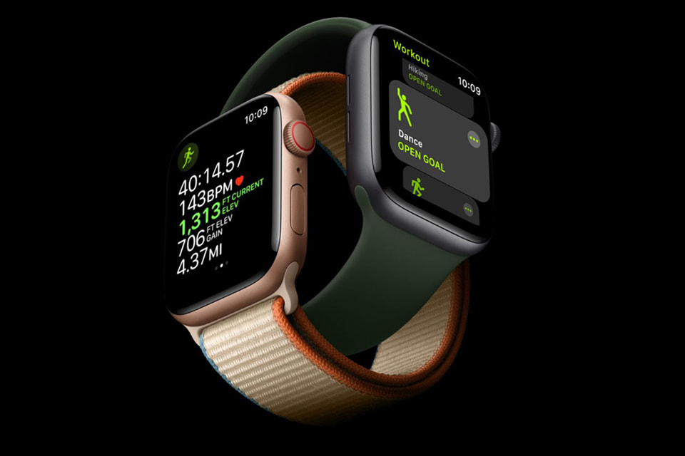 tập luyện Apple Watch Series 6