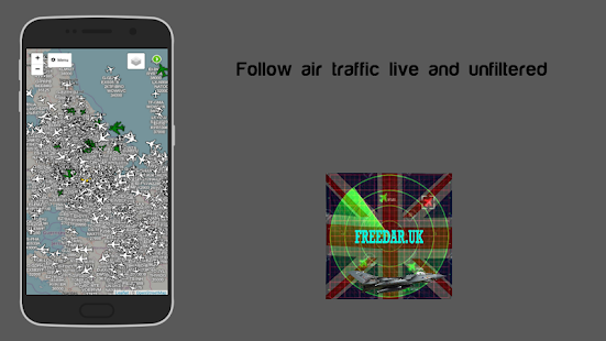 Download Freedar.uk | Live Aircraft Tracker For PC Windows and Mac apk screenshot 1