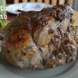 Italian Stuffed Leg of Lamb Roast (Grain & Dairy Free).