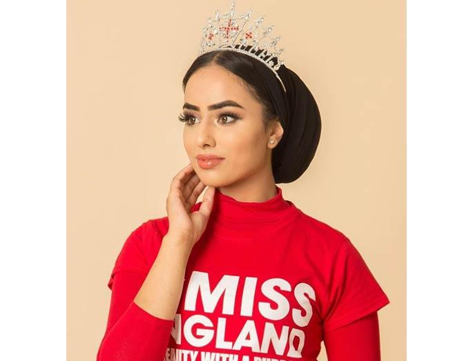 Sara Iftekhar aims to be the first hijab-wearing Miss England.
