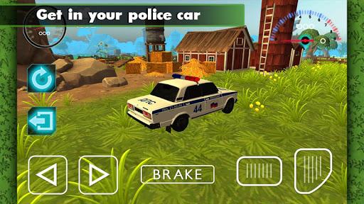 Lada Vaz Police Offroad 3D