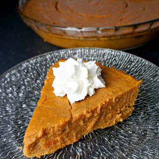 Sweet Potato Pie (without a crust!)