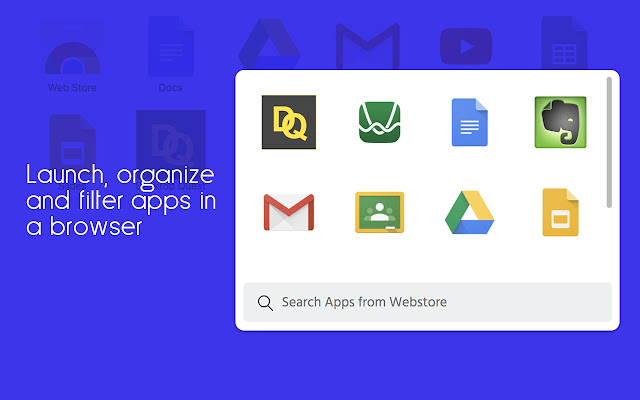 Apps Launcher Screenshot