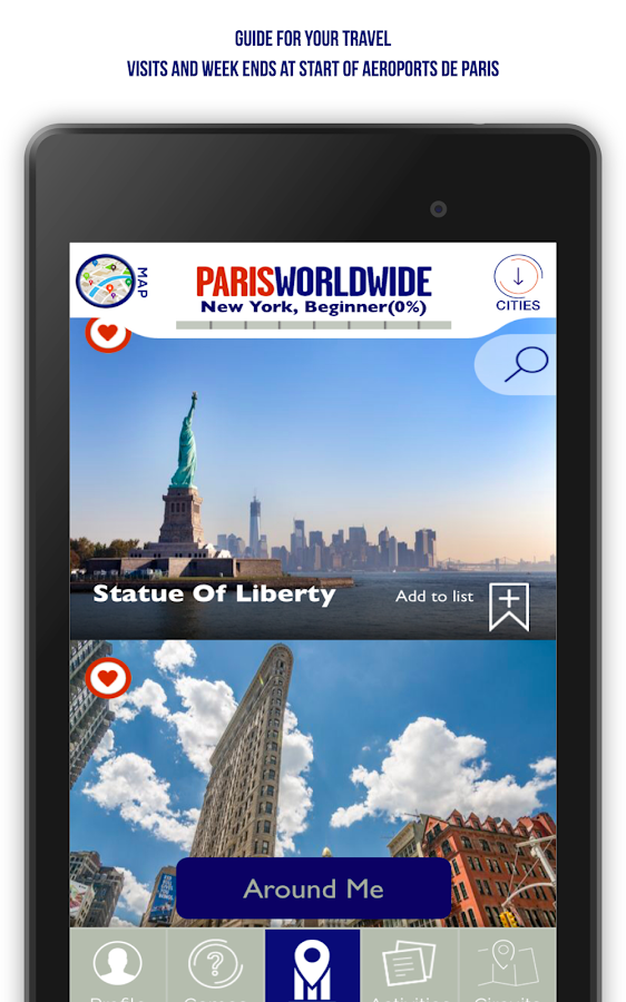 Paris Worldwide - City Guide- screenshot