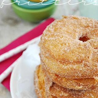 Easy Cinnamon Sugar Fritters