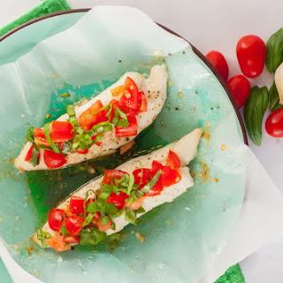 Healthy & Easy Bruschetta Fish.