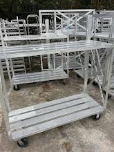 Photo: Aluminum Box Carts $200
