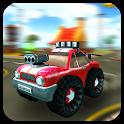 Cartoon Hot Racer 3D Premium icon