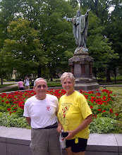 Photo: Larry and Jan on the Notre Dame campus, South Bend IN YRE