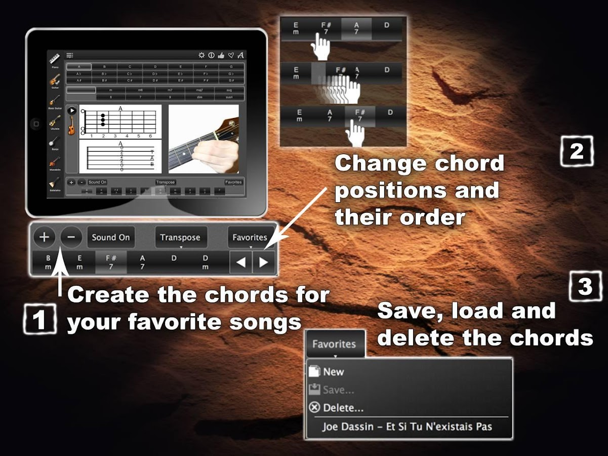 Chords Maestro- screenshot