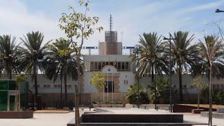 El Centro de Actividades Náuticas de Almería.