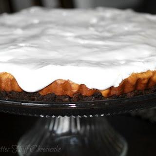 Peanut Butter Fluff Cheesecake.