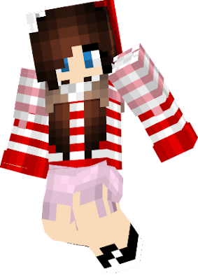 this is my Christmas skin made sorta by scratch hair recolor was a ***** but everything else was fine. insparation off google christmax dresses and long sleeves.