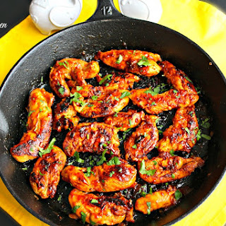 Skillet Sticky Chicken