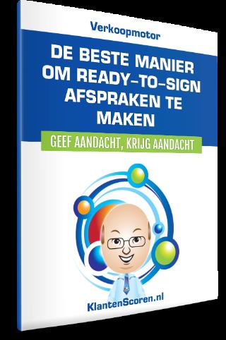 De Beste Manier Om Ready-to-Sign Afspraken te maken