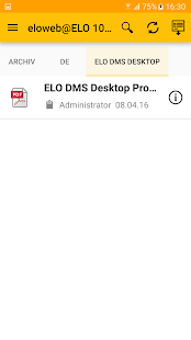 ELO 10 for Mobile Devices – Miniaturansicht des Screenshots