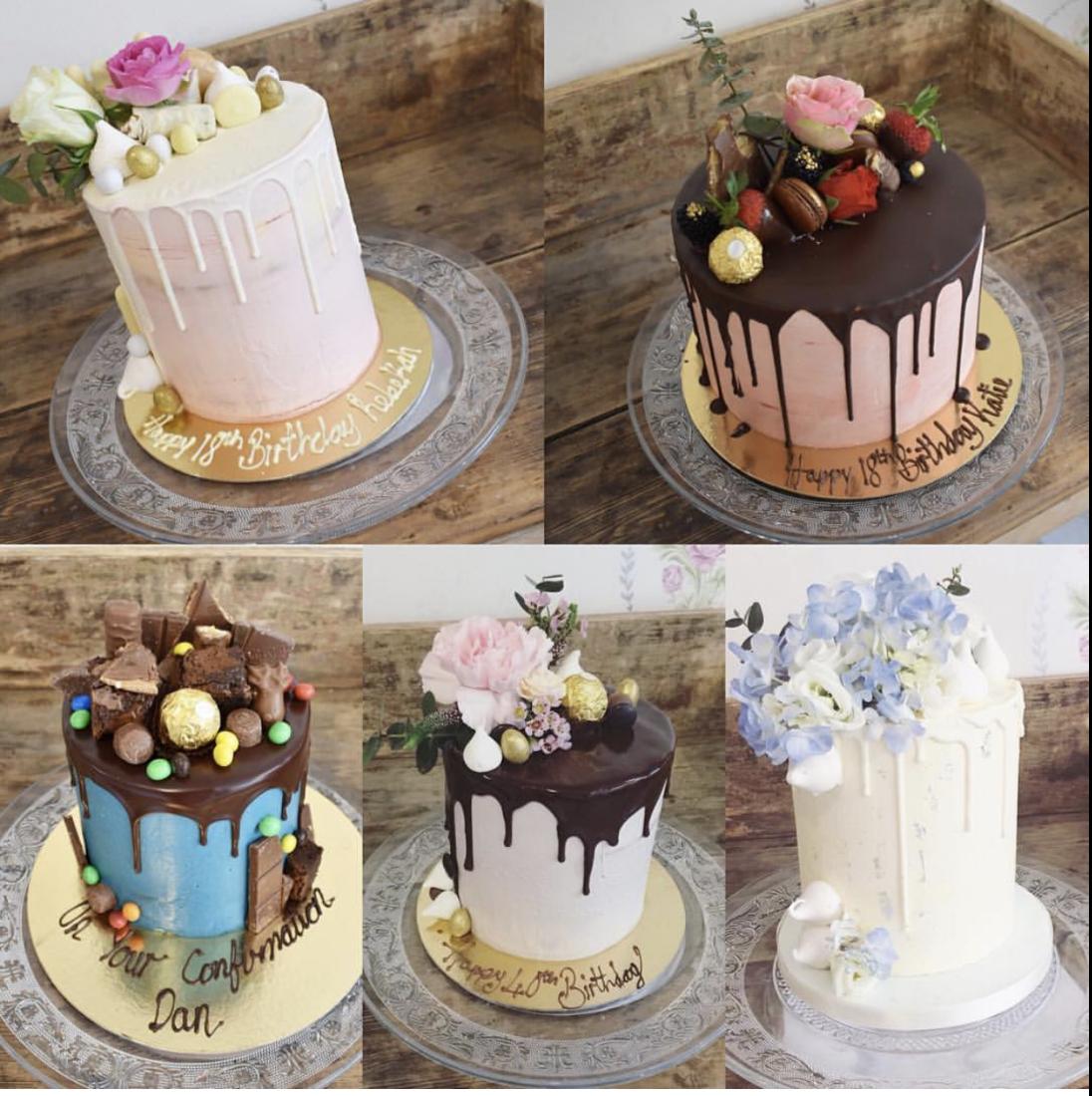 decadent drip cakes