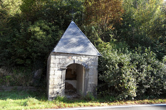 "Photo: La chapelle Saint-Roch, au lieu-dit ""Le Marteau""."