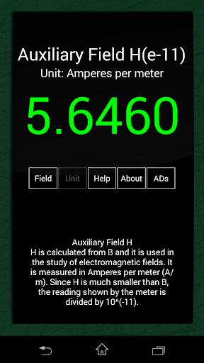 Ultimate EMF Detector Free (Real data) screenshot 2