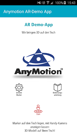 android AnyMotion AR-App Screenshot 0