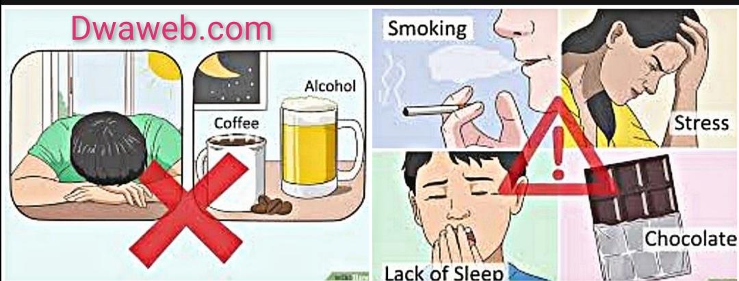 التدخين والكافيين من أسباب الارتجاع