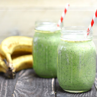 Probiotic Green Breakfast Smoothie