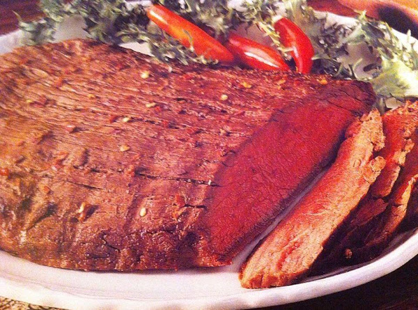 Peppery London Broil Recipe