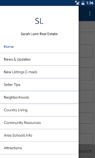 Sarah Lunn Real Estate- screenshot thumbnail