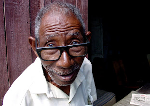Photo: cuban man living on meager pension. Tracey Eaton photo