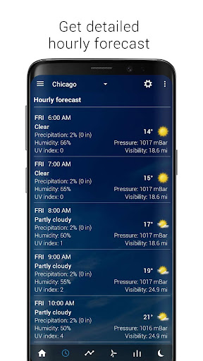 Transparent clock & weather - forecast & radar screenshot 15