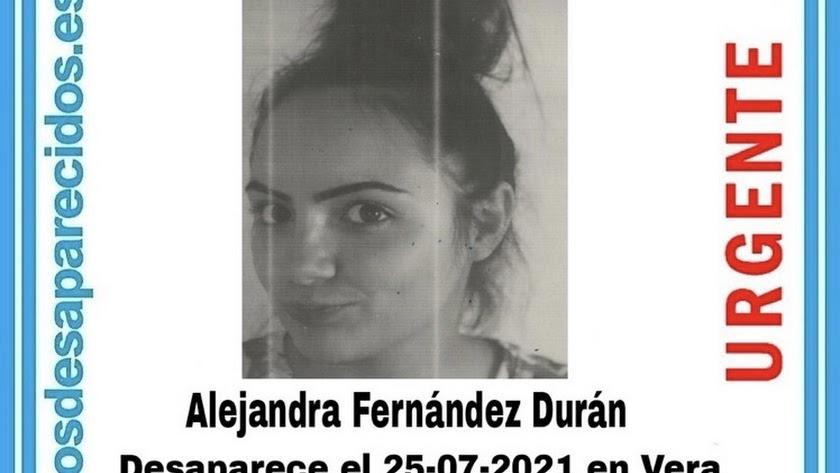 Imagen distribuida por SOS Desaparecidos.
