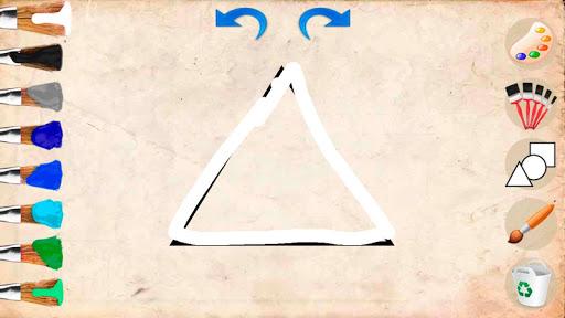 Little painter. Drawing basic geometric shapes 1.0 screenshots 1