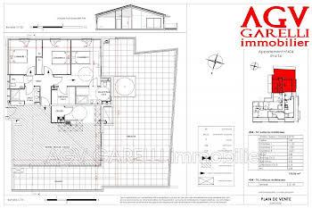 Appartement 4 pièces 118,06 m2
