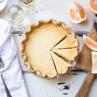 Grapefruit Custard Pie {Gluten-Free}