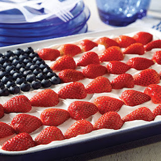 JELL-O® Easy Patriotic Flag Dessert.