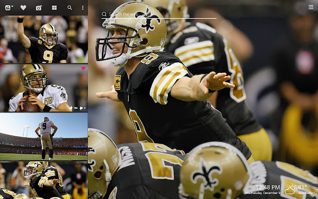 Drew Brees Nfl Hd Wallpapers New Tab Theme