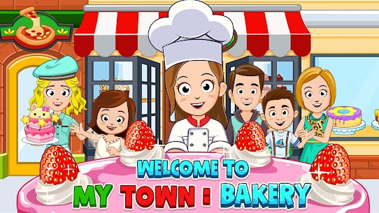 My Town : Bakery & Pizza Store Free MOD (Paid Content) 1