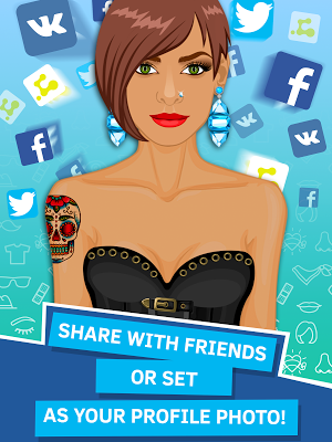 Avatar Creator App - screenshot
