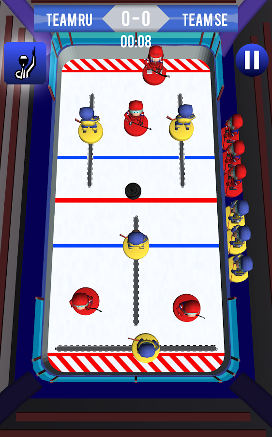 Tap Ice Hockey- screenshot