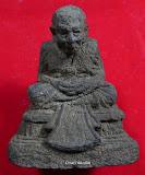 หลวงพ่อทวดพระบูชาตั้งหน้ารถเสาร์5ปี51ว่านโทนดำ 2.0นิ้ว