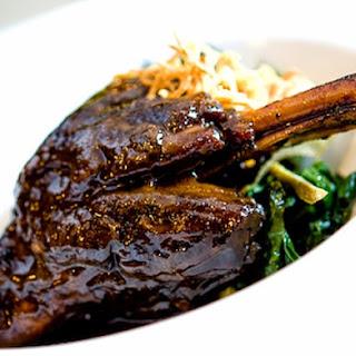 Hearty Dinner Braised Lamb Shanks #PhilippineRestaurantMenu